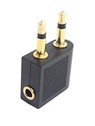 cheap -3.5mm Audio AUX - 3.5mm Male - Female Short(Under 20 cm)