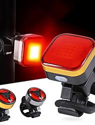 abordables -LED Eclairage de Velo Eclairage de Vélo Arrière Eclairage sécurité / feu clignotant velo VTT Vélo tout terrain Vélo Cyclisme Imperméable Portable USB Avertissement Batterie Li-ion rechargeable USB
