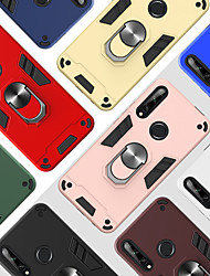 cheap -Case for Huawei scene map Hauwei P30 Lite P20 Lite The New Warframe series ring support PC TPU Two in one armor All-inclusive Anti-fall phone case YB