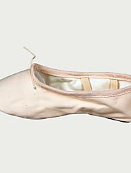 cheap -Women's Ballet Shoes Canvas Flat Flat Heel Dance Shoes Camel / Pink / White