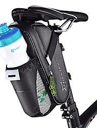 cheap -ROCKBROS Bike Saddle Bag Practical Waterproof Portable Bike Bag Carbon Fiber Microfiber Waterproof Material Bicycle Bag Cycle Bag Cycling Mountain Bike / MTB Cycling / Bike / Reflective Strips