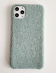 cheap -iPhone 11 Case Compatible with Apple iPhone XR Bumper Knit Solid Colored Warm Protective Skin fit for Apple iPhone7 / iPhone 8 / iPhone X