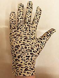 Недорогие -Перчатки Матовый черный Эластан Назначение Кошка Косплей Хэллоуин Карнавал Жен. Бижутерия Модное ювелирное украшение