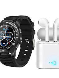 cheap -JSBP GT106  Women Smart Bracelet Smartwatch BT5.1 Fitness Equipment Monitor Waterproof with TWS Bluetooth Wireless Headphones Music Headphones for Android Samsung/Huawei/Xiaomi iOS Mobile Phone