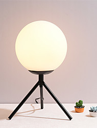cheap -Simple / Modern Contemporary Ambient Lamps / Decorative Table Lamp For Living Room / Bedroom Metal 220-240V Black / Gold