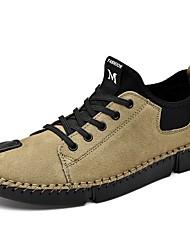 cheap -Men's Comfort Shoes Mesh Fall & Winter Sneakers Black / Gray / Khaki