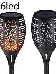 cheap -96 LED SOLAR LIGHT CONTROL SOLAR FLAME LIGHT DANCE FLAME OUTDOOR WATERPROOF GARDEN TORCH LAMP FOR COURTYARD GARDEN BALCON