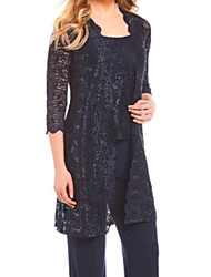 cheap -Half Sleeve Coats / Jackets Lace Wedding Women's Wrap With Lace