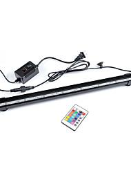 Недорогие -Аквариум Свет LED подсветка Свет аквариума Поменять Дистанционное управление пластик / 220 V / #