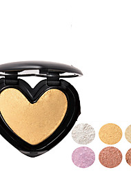 cheap -6 Colors Dry Whitening / Brightening / Casual / Daily Cosmetic / Foundation / Concealer # Glamorous & Dramatic / Sweet Multi-function / Single Open Lid / Kits Heart Shape Makeup Cosmetic