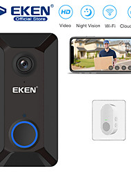 cheap -EKEN V6 Smart WiFi Video Doorbell with 1*Chime