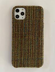 Недорогие -чехол для iphone 11 совместим с apple iphone11 pro max чехол зима теплая роскошь девчачье бампер мода вязаная защитная кожа подходит для apple iphone7 / iphone 8 / iphone x