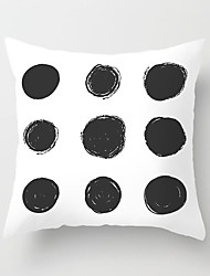 cheap -1 pcs Polyester Pillow Cover Nordic Geometry Modern Minimalism Black and White Plaid Pillowcase Cushion SOFA Living Room Office