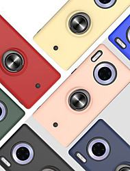 cheap -Case For Apple Huawei P Smart 2019 Z P20lite Y5 Y9Prime Mate 30 30Pro 30lite 10lite Nova 5i 5iPro 5Z Honor 10lite 9X 9XPro Play 3 3E Shockproof Ring Holder Back Cover Solid Colored TPU PC Metal
