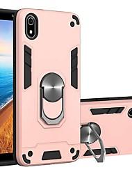 cheap -Case For Xiaomi Redmi Note 8 Pro / Redmi Note 8 / Redmi Note 7 Pro Shockproof / with Stand Back Cover Solid Colored Two-in-one BattlegeaTPU / PC for Redmi Note 7 / Mi CC9 Pro / Mi CC9e / Redmi K20 Pro