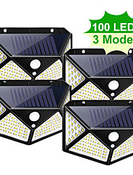 cheap -WAZA 100 LED SOLAR LIGHT OUTDOOR SOLAR LAMP POWERED SUNLIGHT WATERPROOF PIR MOTION SENSOR STREET LIGHT FOR GARDEN DECORATION