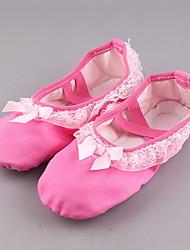 cheap -Women's Ballet Shoes Canvas Flat Flat Heel Dance Shoes Fuchsia / Pink