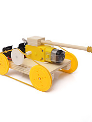 cheap -Toy Car Tank Chariot Creative Cool DIY Wooden Metalic Plastic Kid's Boys' Girls' Toy Gift 1 pcs