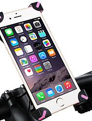 cheap -WEST BIKING® Bike Phone Mount Adjustable / Retractable Anti-Slip Durable for Road Bike Mountain Bike MTB PVC(PolyVinyl Chloride) iPhone X iPhone XS iPhone XR Cycling Bicycle Black Black / Red