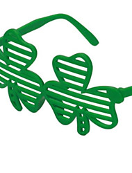 cheap -Shamrock blind glasses st Patrick's ball party Irish holiday glasses in 5 outfits