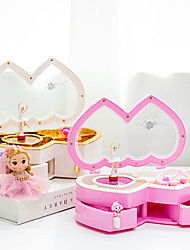 cheap -Music Box Ballerina Music Box Music Box Dancer Cute Singing Lovely Unique Plastic Shell Women's All Girls' Kid's Adults Child's 1 pcs Graduation Gifts Toy Gift
