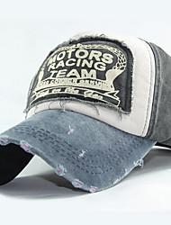 cheap -Men's Unisex Basic Cotton Baseball Cap-Color Block All Seasons Black Wine Fuchsia