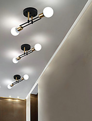 cheap -2-Light Nordic Creative Personality Balcony Ceiling Light American Staircase Corridor Porch LIght Simple Modern Ceiling Light