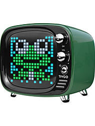 cheap -Divoom Tivoo Portable Bluetooth speaker Smart Clock Alarm Pixel Art DIY by App LED Light Sign in decoration Unique gift