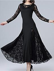cheap -Women's Swing Dress - Solid Colored Maxi Black Wine Purple M L XL
