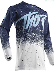 cheap -New outdoor off-road long sleeved shirt motorcycle Jersey mountain bike speed down to DH customization