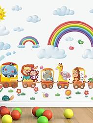 cheap -Rainbow Decorative Wall Stickers - Plane Wall Stickers Nursery / Kids Room 97*32cm