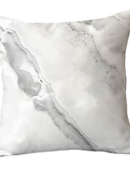 cheap -1 pcs Polyester Pillow Cover Simple Modern Marble Texture Light Color Lines Sofa Throw Pillow Light Luxury Pillowcase Throw Without Core