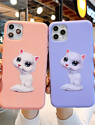 cheap -Soft Silica Gel Case for iPhone X Fun Cat Fashion Cool Cover Skin Teens Girls Cases for iPhone 6 / iPhone 7/ iPhone 11 pro / Shockproof / Dustproof