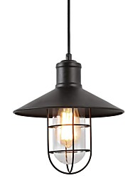 cheap -1-Light 15 cm Creative Pendant Light Hemp Rope Painted Finishes Traditional / Classic / Nordic Style 220-240V