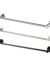 cheap -Towel Bar New Design Contemporary Brass / Stainless Steel Bathroom 1-Towel Bar Wall Mounted