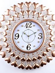 Недорогие -Современный современный деревянный Круглый В помещении Батарея Украшение Настенные часы Цифровой Дерево Да