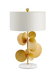 cheap -Modern Contemporary Decorative Table Lamp For Bedroom 220V Gold