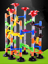 cheap -105 pcs Marble Run Race Construction Marble Track Set Marble Run ABS STEAM Toy Creative Novelty DIY Parent-Child Interaction as Children's gift Educational Kid's Children's Boys' Girls' Toys Gifts