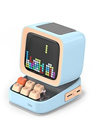 cheap -Divoom Ditoo Retro Pixel art Bluetooth Portable Speaker Alarm Clock DIY LED Screen By APP Electronic Gadget gift Home decoration