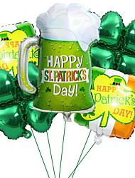 cheap -Holiday Pride Balloon Bottom Up St Patrikc's Day Lucky Ballon