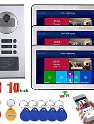 Недорогие -Mountainone sy813fkid11 проводной&Усилитель беспроводной связи Встроенный динамик 9,7 дюйма громкой связи один на один видеодомофон