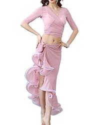 cheap -Belly Dance Skirts Ruffles Women's Performance Polyester