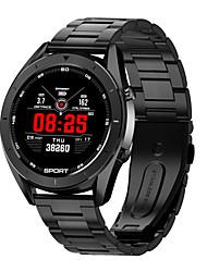 Недорогие -Dt № 1 T99 из нержавеющей стали SmartWatch Поддержка монитора сердечного ритма / измерения артериального давления Bluetooth фитнес-трекер для телефонов Samsung / Iphone / Android