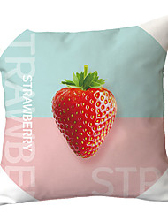 cheap -1 pcs Polyester Pillow Cover Nordic INS Small Fresh Plant Fruit Living Room Sofa Pillow Cover Office Pillow Simple Bed Pillow Cover