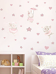 cheap -Decorative Wall Stickers - Plane Wall Stickers Stars / Fairies Nursery / Kids Room 48*53cm