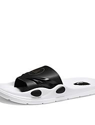 cheap -Men's Light Soles PVC Spring & Summer Casual Slippers & Flip-Flops Upstream Shoes Breathable Black / Orange / Green