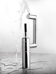 cheap -Bathroom Sink Faucet - Rotatable Electroplated Single Handle Bath Taps Easy Hair Washing Magic Machine