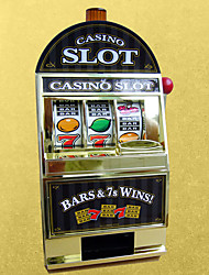 cheap -Toy Slot machine Slot Machine Bank Mini Mini Novelty Educational Plastic Shell ABS Resin Kids All Toy Gift