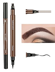 cheap -Eyeliner Eyebrow Pencil New Design Double Open Lid Easy to Carry Makeup Lady Eye Eyeliner Straight Multifunctional Beauty Casual / Daily Christmas Party Birthday Cosmetic Grooming Supplies