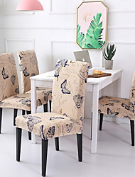 cheap -Chair Cover Scenery / Contemporary Printed Polyester Slipcovers